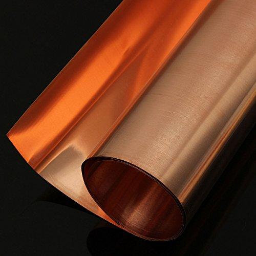 Preisvergleich Produktbild Generic yc-uk2–151124–153 < 1 & 5604 * 1 > VE Rolle 200 x 1000 Spannbettlaken 200 x Kupfer Folie 1000 mm Doppelseitiges Klebeband Schirmung ableitfähige Rolle Kupfer Folie