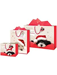 Anker Puppy Design Giant Christmas Present Gift Bag Brand New Fast Postage