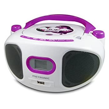 metronic 477118 radio lecteur cd mp3 portable. Black Bedroom Furniture Sets. Home Design Ideas