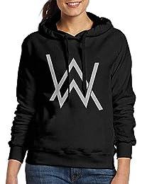 Alan Walker WomanS Sweatshirt Pocket Hoodie Black