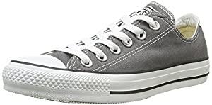 CONVERSE Chuck Taylor All Star Seasonal Ox, Unisex-Erwachsene Sneakers, Grau (Charcoal), 39.5 EU