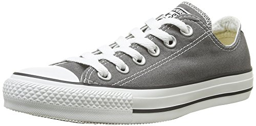 Converse Chuck Taylor All Star Ox, Sneakers Basses Mixte Adulte Gris (Charcoal)