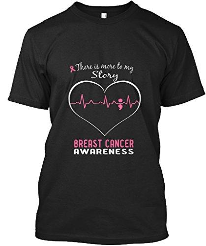 Stylisches T-Shirt Damen / Herren / Unisex von Teespring   Originelles Outfit für jeden Anlass und lustige Geschenksidee - Breast Cancer Awareness (Awareness Breast Kleidung Cancer)