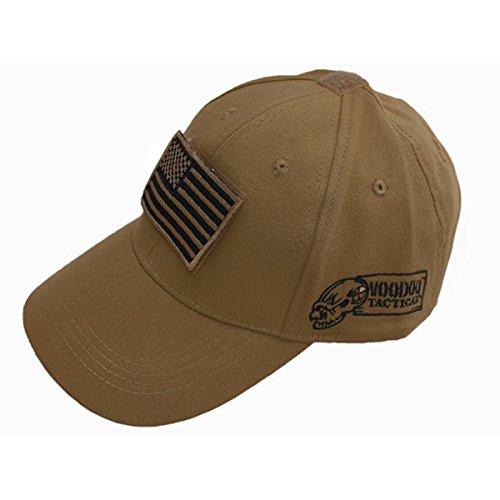 Voodoo Tactical Adjustable Cap with removable Patch (Coyote)