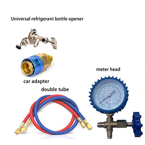 Lingzhuo-shop r22 r134a r410 r600 casa auto refrigerante liquido di raffreddamento aria condizionata più neve aria condizionata set orologio refrigerante