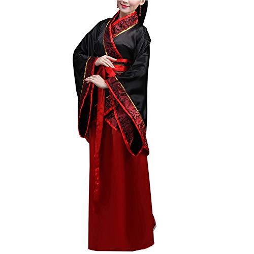 Huatime Damen Kleidung Cosplay Kostüme - Tang Kostüm Alten chinesischen Stil Hanfu Kleid Prinzessin Fee Chaise Kostüm Leistungen
