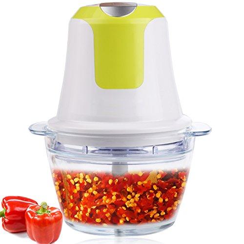 meykey picadora eléctrica, Multi–Trituradora, pasapurés, frutas y verduras picadora