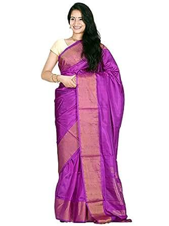 b3e9cd5edc0f4 Uppada pure silk handloom saree plain design with 6