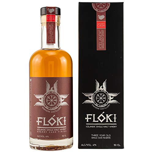 Flóki Icelandic OLOROSO SHERRY CASK FINISH Single Malt Whisky Whisky (1 x 0.5)