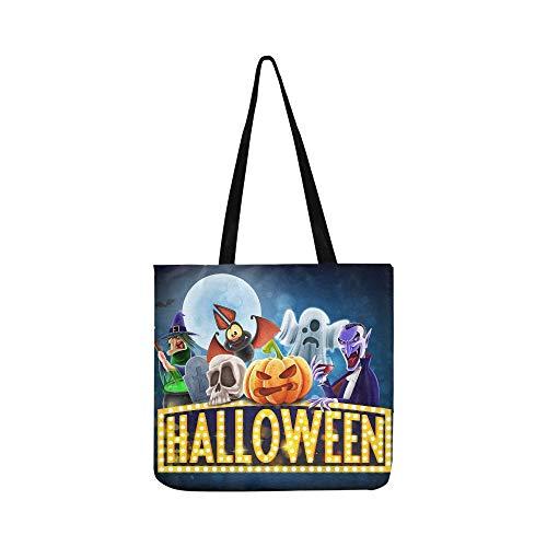 nwand Tote Handtasche Schultertasche Crossbody Taschen Geldbörsen für Männer und Frauen Einkaufstasche ()