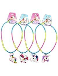 6245525b14c3 DISOK - Collar Unicornio para niñas. Detalles de bisutería para comuniones