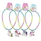 DISOK - Lote 24 Collares Unicornio para Las niñas. Regalos de bisutería para...