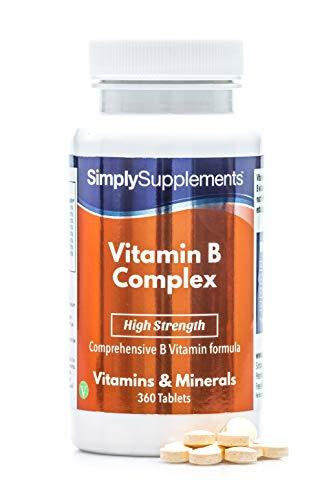 Vitamin B Komplex - Geeignet für Veganer - 360 Tabletten - SimplySupplements