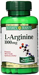 Nature's Bounty L-Arginine 1000mg, 50 Tablets