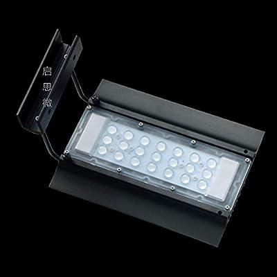 La Grande Usine Aquatique légère d'aquarium de LED de Nemo 24W / récif de Corail allumant la Lampe Clip-on de Dimmable for l'aquarium La Perle Lumineuse de la Lampe est Douce et Lisse