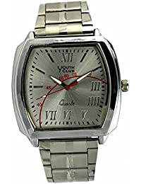 YOUTH CLUB ULTIMATE ANALOG WHITE DIAL MEN'S WATCH-YCC-39W