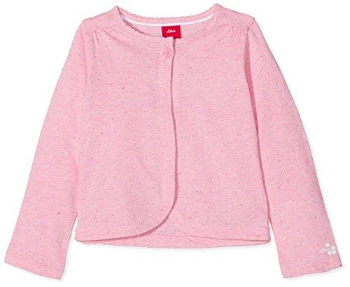 s.Oliver Baby-Mädchen Strickjacke 65.804.31.8030, Rosa (Light Pink Melange 44w6), 86