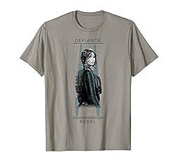 Star Wars Rogue One Jyn Defiance U-Wing Graphic T-Shirt