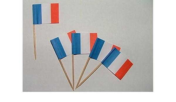 Flaggen Zahnstocher Norwegen Fahne Flagge Minipicker Partyzahnstocher