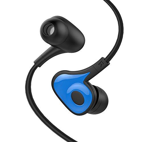 In Ohr Kopfhörer, Boostek E150S Verdrahtete Ohrhörer mit Mikrofon Schwarz In Linie-Kontrolle In-Ohr Kopfhörer Stereo Kopfhörer