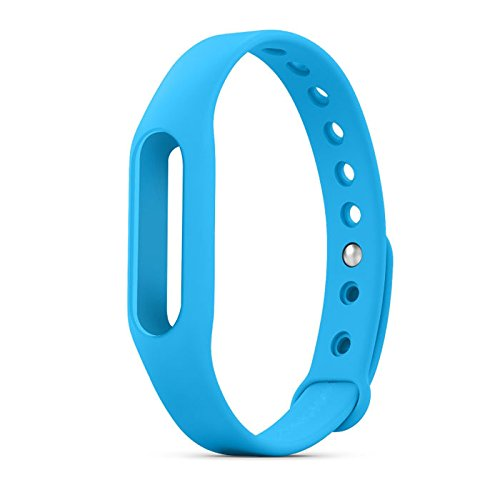 Wrist Strap Band Belt Wristband Silicone Wearable Case Cover For Xiaomi Mi Band 1A / 1S - Blue (Not For Mi Band 2)  available at amazon for Rs.199