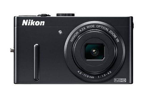 Nikon Coolpix P300 Digitalkamera (12 Megapixel, 4-fach opt. Zoom, 7,5 cm (3 Zoll) Display, Full-HD Video) schwarz