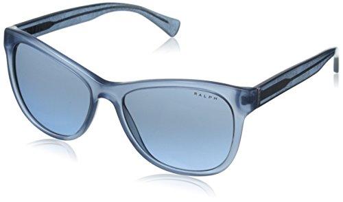 Unbekannt RALPH Damen 0RA5196 142517 Sonnenbrille, Blau (Denim Blue/Denim Blue Bandana/Greyblueegradient), 54 (Denim Bandana Blue)