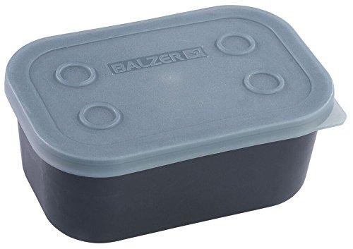 Balzer Pellet Box - Köderbox für Pellets & Boilies, Angelbox für Köder, Köderbehälter für Angelköder zum Friedfischangeln, Ausführung:0.6 Liter / 15x10x6cm
