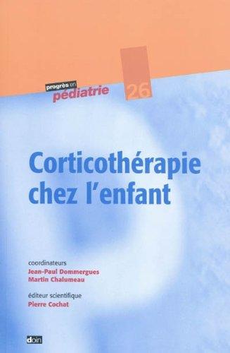 Corthicothérapie chez l'enfant - N°26