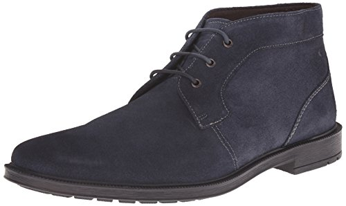 Stacy Adams Dabney Hommes Large Synthétique Bottine Navy