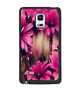 PrintDhaba Flower D-2035 Back Case Cover for SAMSUNG GALAXY NOTE 4 (Multi-Coloured)