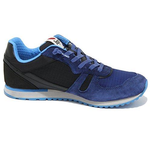 0972O sneaker LOTTO TOKYO SHIBUYA nero/bluette scarpe donna shoes women nero/bluette