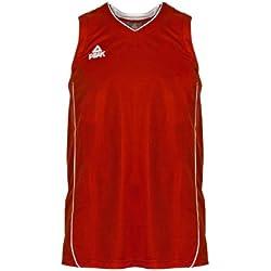 Peak Sport Europe - Camiseta de baloncesto para hombre, tamaño XXL, color rojo