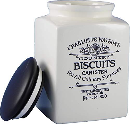 Charlotte Watson Grand pot à biscuits carré