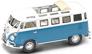 LUCKY Die Cast 43208bu-Volkswagen Especial Front, vehículos, Azul/Blanco