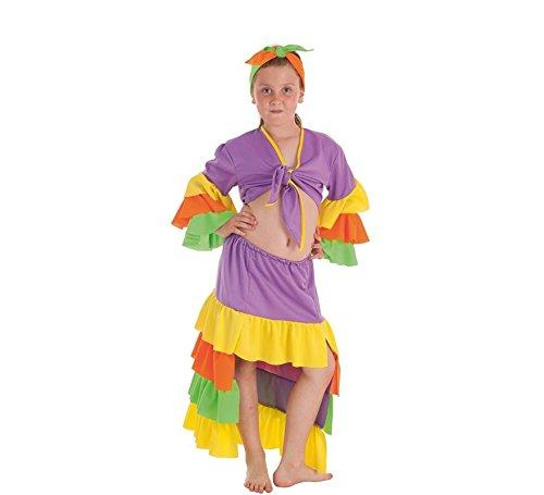 Kostüm Rumbera - Zzcostumes Rumbera Varadero Kostüm für EIN Mädchen