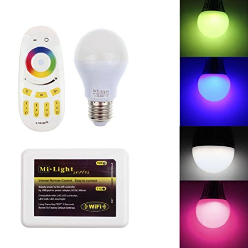 bocidealtm-mi-light-24g-rgb-warmweiss-6-watt-e27-dimmbar-wireless-mit-fernbedienung-farbwechsel-gluh