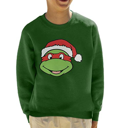 Teenage Mutant Ninja Turtles Raphael Christmas Hat Kid's Sweatshirt