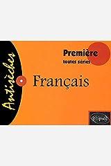 Antisèches Français : Première, toutes séries Broché