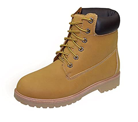 Womens High Top Boots Hiking Desert Trail Combat Ladies Honey Ankle Chelsea Safety Work Lace Up Biker Shoes Size EU 37