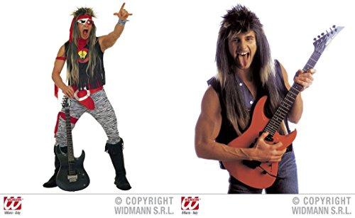 *** ANGEBOT *** - ROCK STAR - ( Kostüm 50/52 (M) + Perücke ) Kombinationen Kostümkombinationen Partyverkleidungen (Bilder Von Rockstar Kostüme)