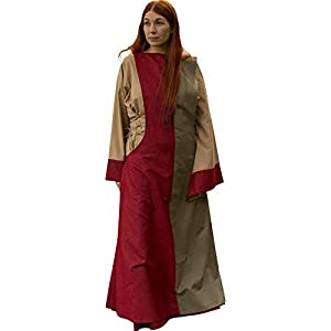 Epic Armoury- Dress Runa Green-6-8 vestido, Color dark red/dryad green (Iron Fortress 33071315)
