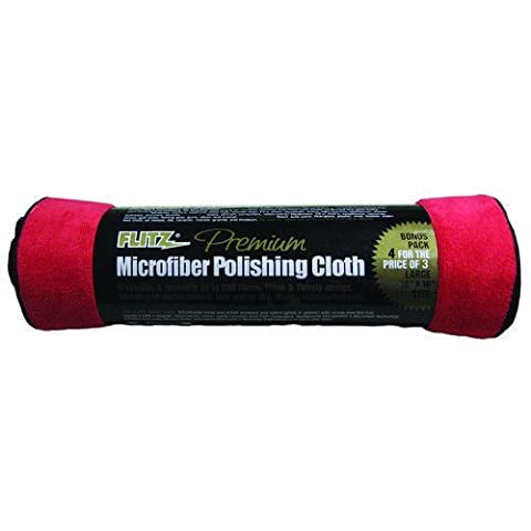 Flitz Microfiber Polishing Cloths 16