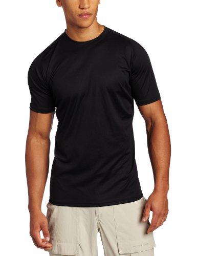 5.11 Herren Loose Fit Crew Kurzarm Shirt, Herren, 5-40007-019-BLACK-XXXL-, Schwarz, XXXL - Sleeve Loose Fit Shirt