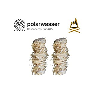 Polarwasser - 2,5 kg Bio Anzünder aus Holzwolle und Wachs Kamin Ofen Grill Anzünder 2500g