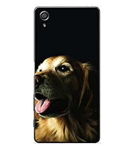 YuBingo Sony Xperia X :: Sony Xperia X Dual F5122 2D Designer Phone Back Case Cover ( Lovable Dog )