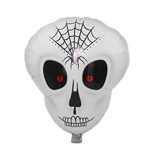 Preisvergleich Produktbild Netter Halloween-Luftballon Mode Art-Aluminiumfolienballon für Versammlung Partei Prop 1set liefert Dekoration (Skeleton)