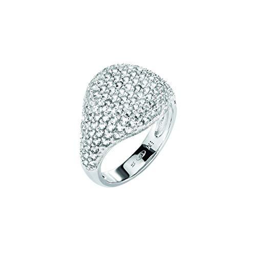 Morellato Anello da donna Collezione Tesori argento 925? zirconi bianco SAIW65018