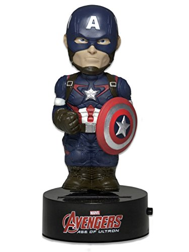 NECA Vengadores La Era de Ultrón Figura Movible Body Knocker Captain America 15 cm