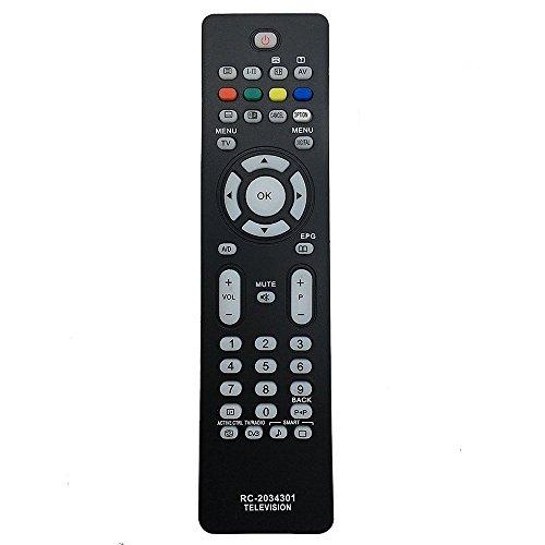 allimity Sustituido control remoto RC2034301 / 01 apta para la TV 19PFL5522D de...